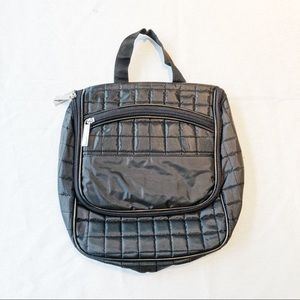Members Only Black Travel Tote Bag NWT